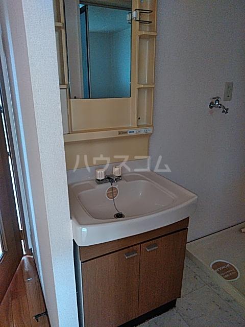 プレミール秋 210号室の洗面所