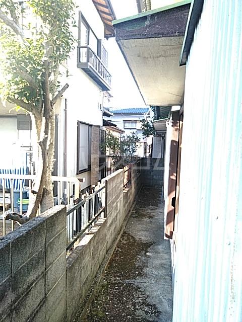 中瀬町2戸1 1号室のバルコニー