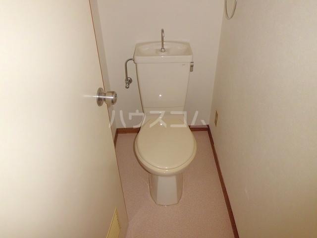 エルハイム岡崎 207号室のトイレ