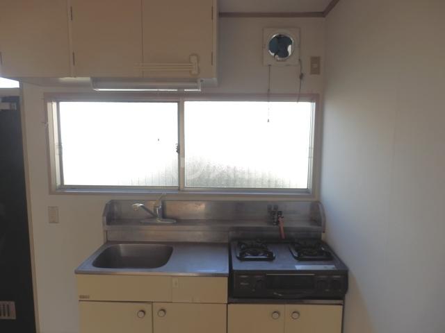 鳥居アパート 201号室のキッチン