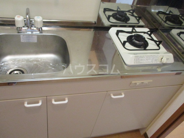 パピーMASA 203号室のキッチン