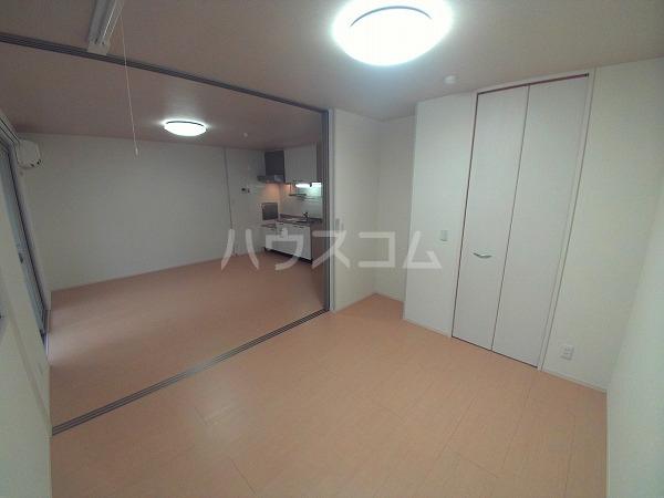 ションセイG 103号室のベッドルーム