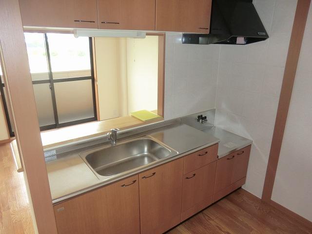 アシューレ・M 105号室のキッチン