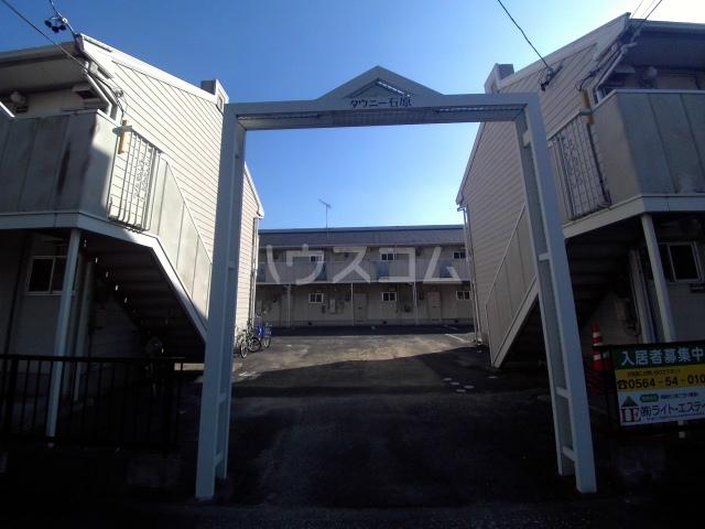 タウニィ石原 D棟 105号室のエントランス