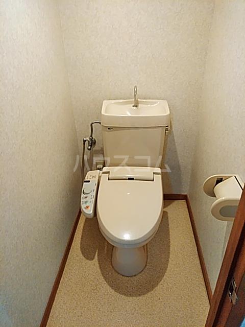 キャピターレ 305号室のトイレ