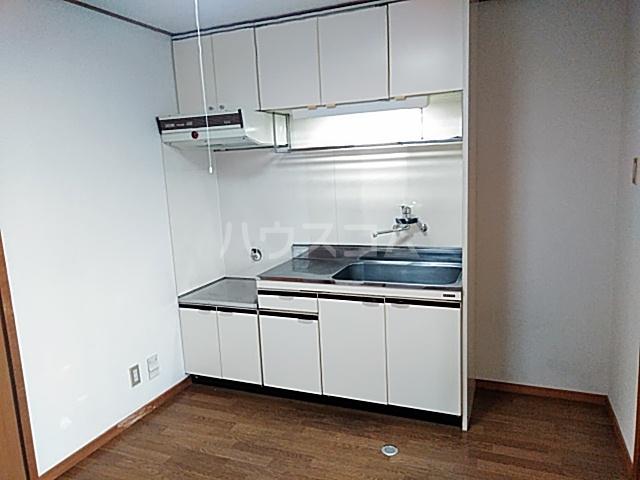 キャピターレ 305号室のキッチン