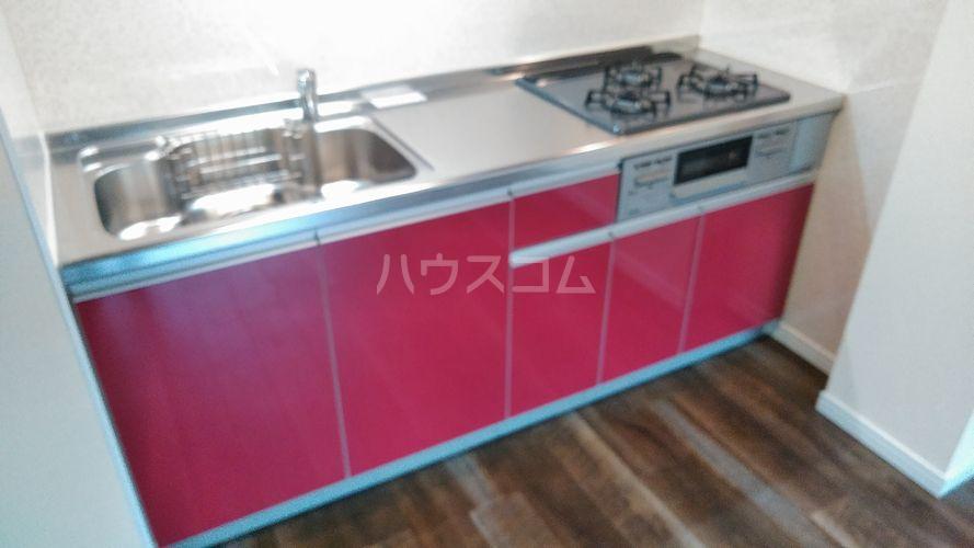 クレートメゾン土屋 202号室のキッチン