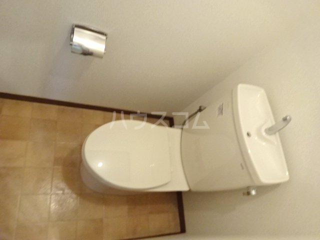 グリーンキャピタル石井 107号室のトイレ