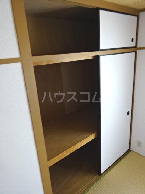 グリーンキャピタル石井 107号室の収納