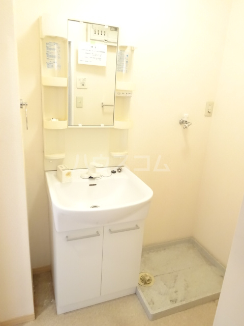 ルミエールモナリエ 205号室の洗面所
