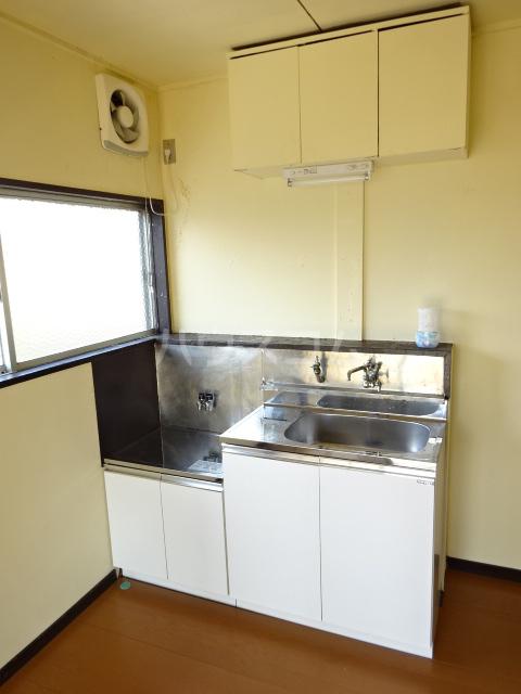 矢切ハイムA棟 B号室のキッチン