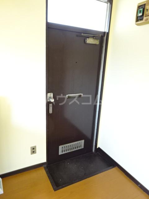 矢切ハイムA棟 B号室の玄関