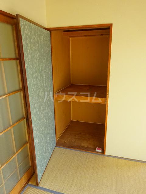 矢切ハイムA棟 B号室の収納