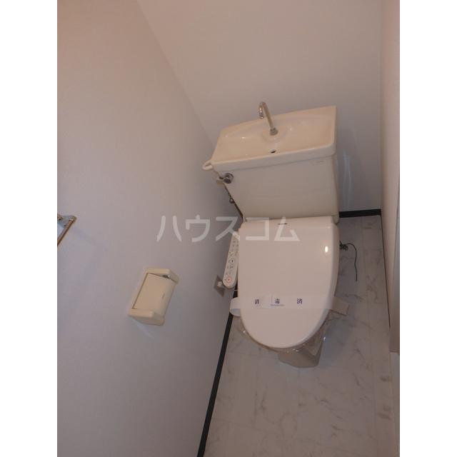 アメニティー木部 303号室のトイレ