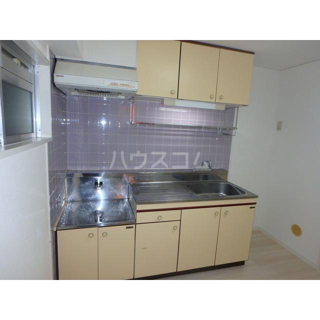 アメニティー木部 303号室のキッチン