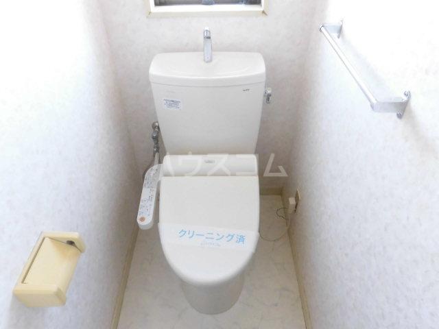 ソシアアマヌマ 102号室のトイレ