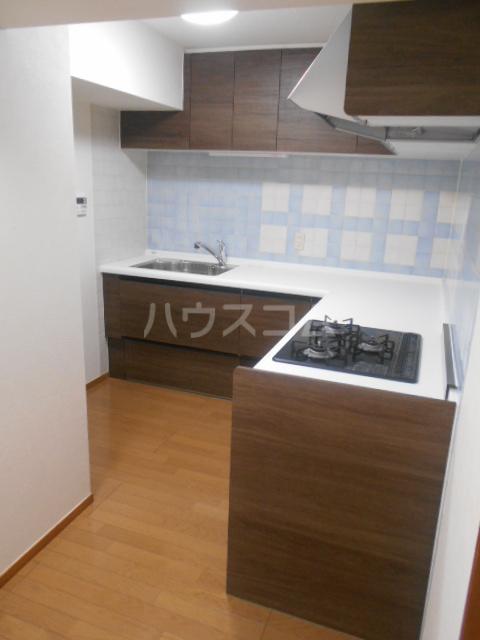 VIPロイヤル氷川台 503号室のキッチン