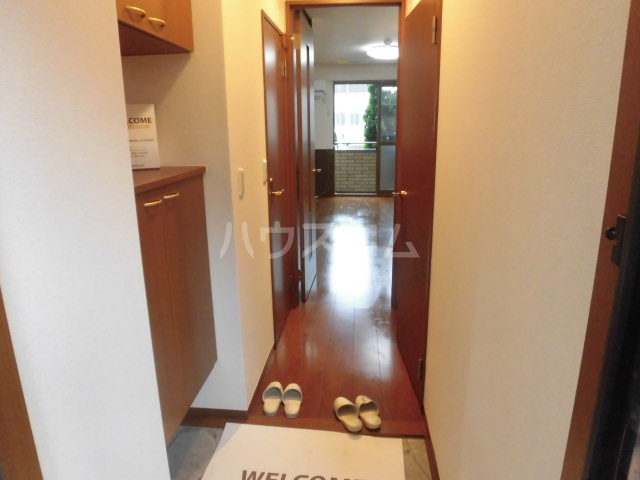 セジュール木本 A 206号室の玄関
