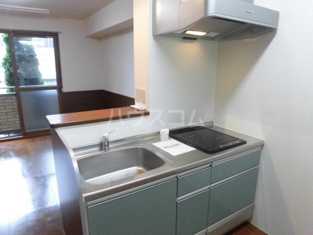 セジュール木本 A 206号室のキッチン