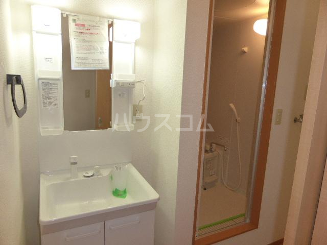 シャトー青樹 101号室の洗面所