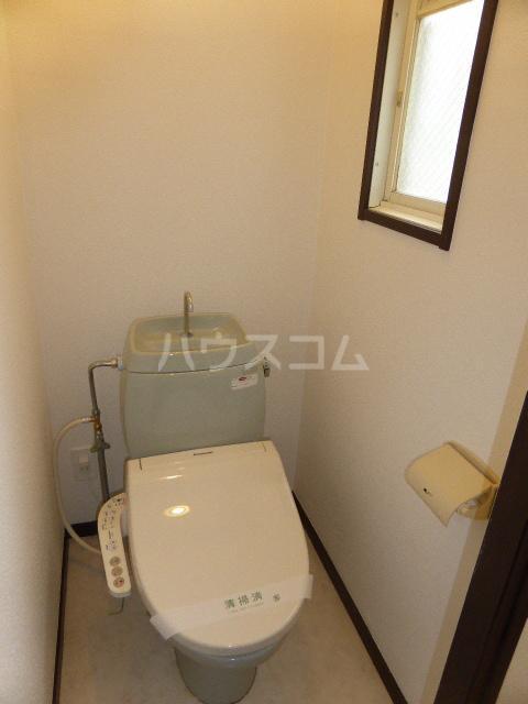 ユタカハイツ 202号室のトイレ