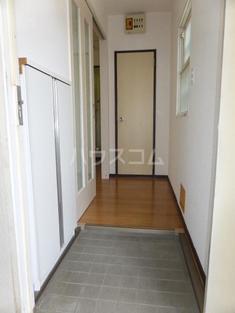 ユタカハイツ 202号室の玄関