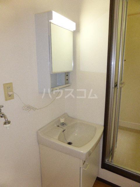 ユタカハイツ 202号室の洗面所