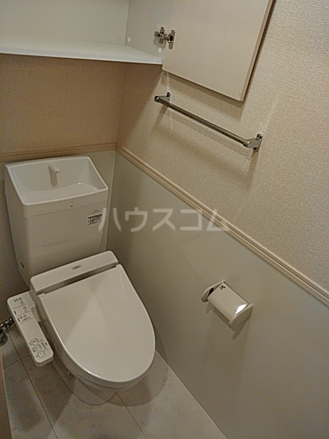 OTT's大宮 101号室のトイレ