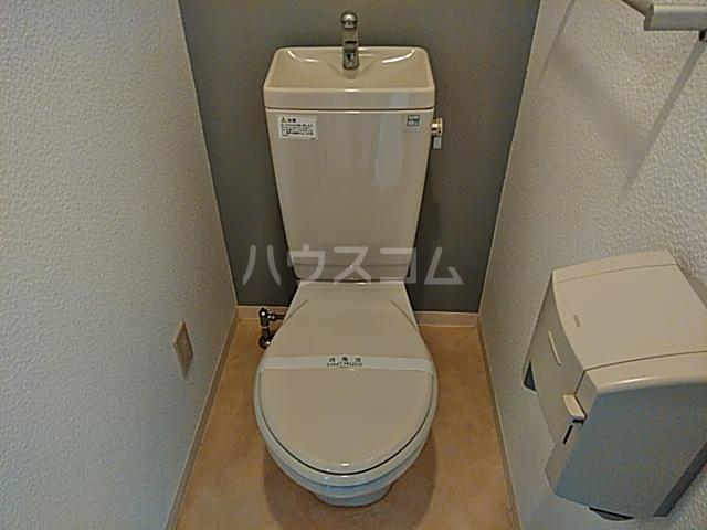 静フェバレット 503号室のトイレ