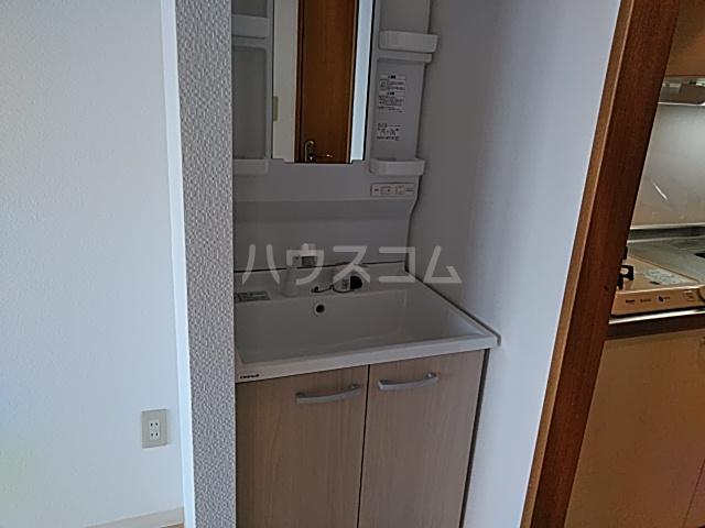 静フェバレット 503号室の洗面所