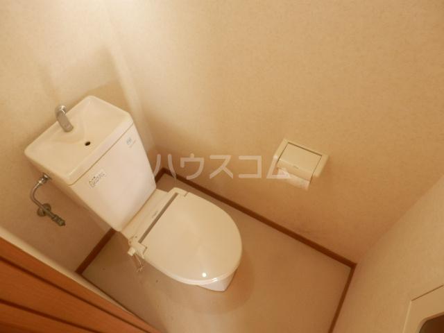 メゾネットYUのトイレ