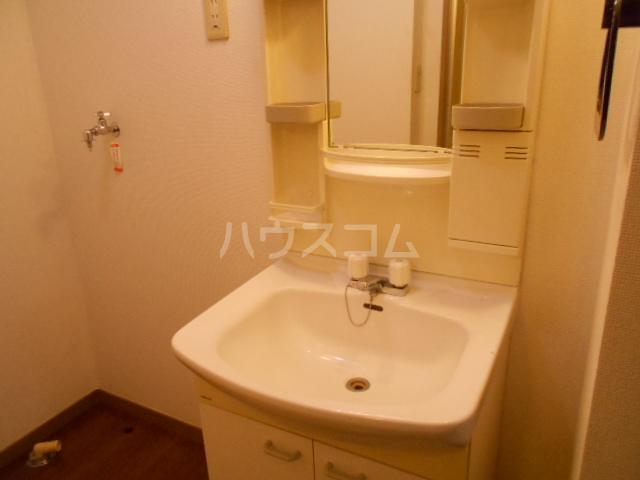 アステリアB 101号室の洗面所