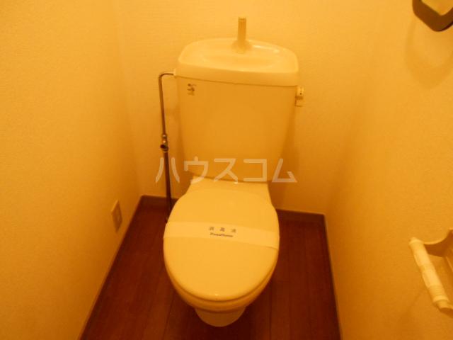 アステリアB 101号室のトイレ