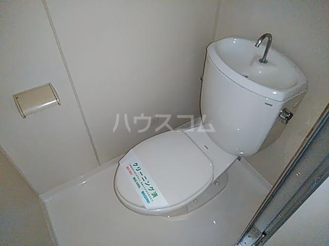 ビングスフジ 102号室のトイレ