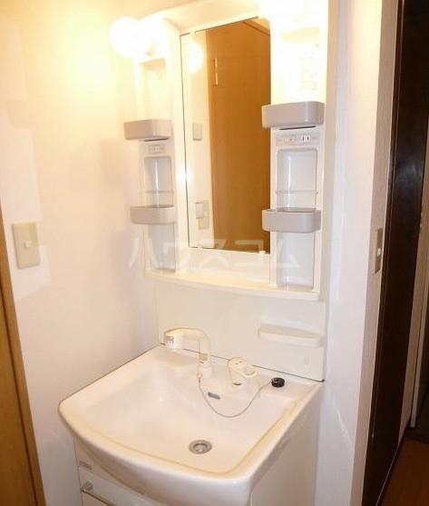 アシスタントビル 308号室の洗面所