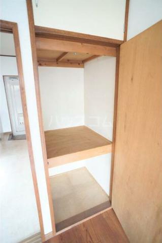 サンハイツ新堀 306号室の収納