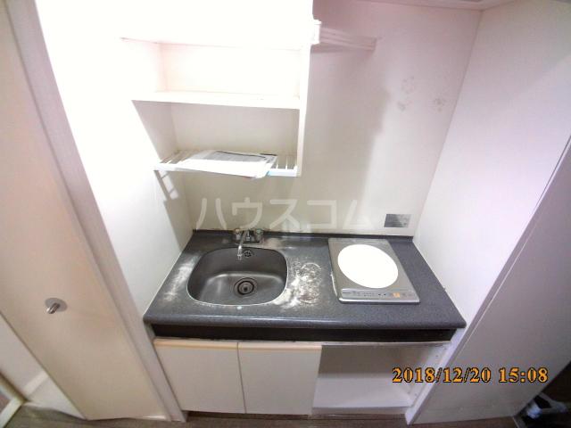 ミルオンデュール竹生 604号室のキッチン