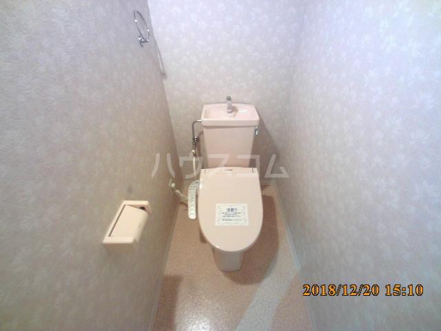 ミルオンデュール竹生 604号室のトイレ