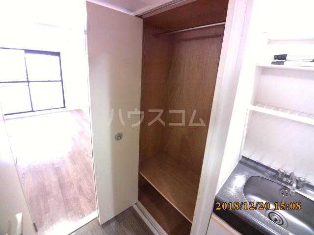 ミルオンデュール竹生 604号室の収納