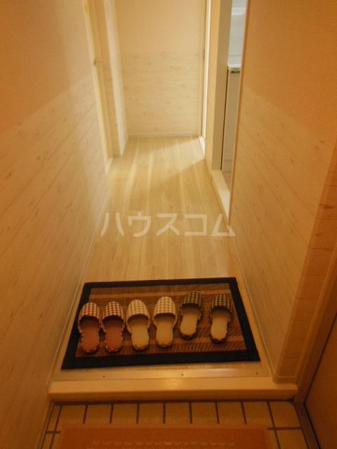 サントピア天道B 103号室の玄関