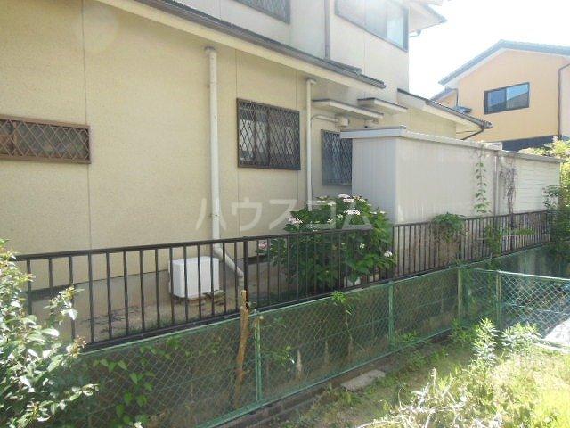 サントピア天道B 103号室の庭