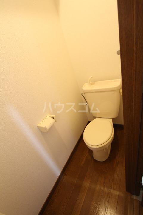 スカイコート月見 203号室のトイレ