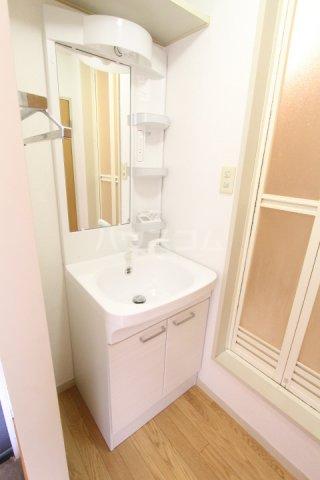 フレグランス豊栄B 101号室の洗面所