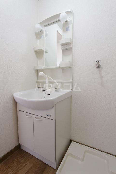 アンプルール フェール 加藤 202号室の洗面所