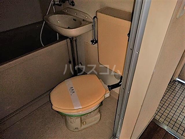 アークファースト 206号室のトイレ