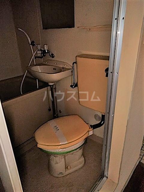 アークファースト 210号室のトイレ