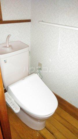 プリスティーヌ 306号室のトイレ