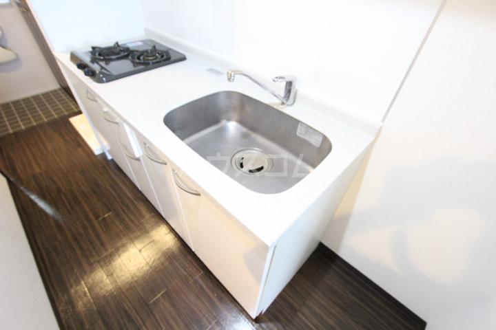 AQUA VITA 202号室のキッチン
