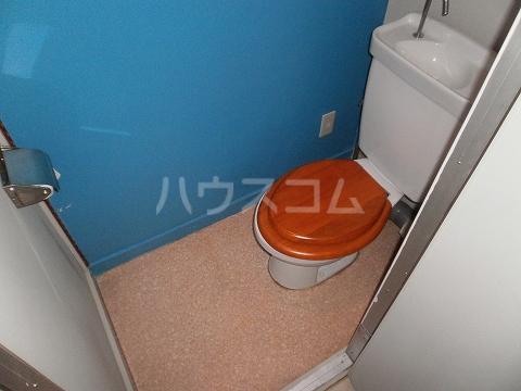 保見団地118棟 505号室のトイレ