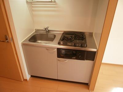 スマイルガーデン 102号室のキッチン
